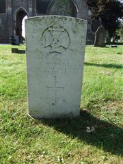 The grave of Corporal Hopewell of the King's Royal Rifle Corps. Photo by Tracy Dodds