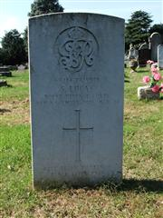 The grave of Private Lucas of the Royal Defence Corps. Photo by Tracy Dodds