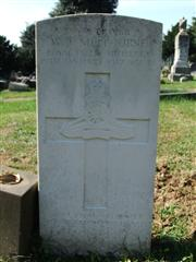 The grave of Driver Melbourne, of the Royal Field Artillery. Photo by Tracy Dodds