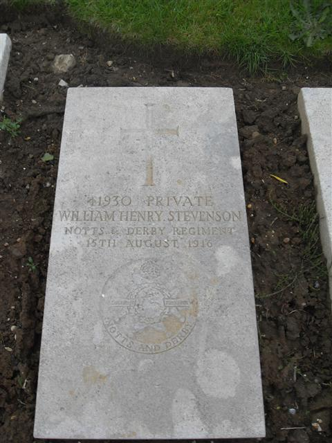 Buried at Boulogne East Cemetery