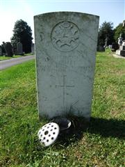 The grave of Private Sulley of the Notts and Derby regiment. Photo by Tracy Dodds