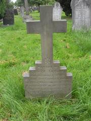 Buried in Churchyard.
