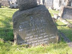 Family headstone Nottingham Church (Rock) Cemetery. Photograph Rachel Farrand