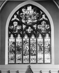 Memorial east window.  Photograph by kind permission of Sherwood United Reformed Church