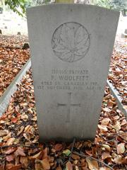 180165 Private P. WOOLFITT