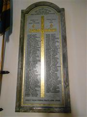 St Mary Magdalene Roll of Honour M-Y