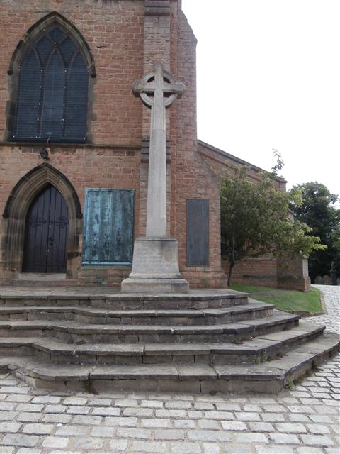 Bulwell St Mary The Virgin and All Souls Memorial Wheel and Cross