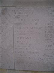 6464 Corporal Edward Bradbury, Helles memorial, Gallipoli, K in A, 9/8/1915.
