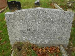 The Colledge family grave commemorating William Colledge in Redhill Cemetery.