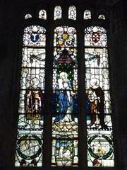(WMA 27101) Stained glass window commemorating Armistice Day 1918. Photograph Rachel Farrand (March 2013)