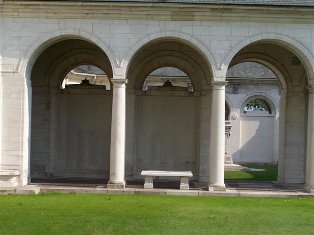 10393 Private Septimus George Backhouse was the first man of the battalion to be killed on 17 November 1914. He has no known grave and is commemorated on the Le Touret Memorial France. Visited cross laid and photo taken by John Morse