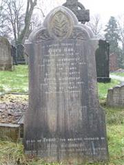 Family headstone, Nottingham General Cemetery. Photograph Rachel Farrand (January 2015)