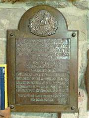 Memorial, Clayworth St Peter. Photograph Rachel Farrand (July 2012)