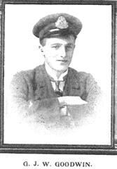 This photo of Godfrey Goodwin was first published in the 'Retfordian' magazine following his death.