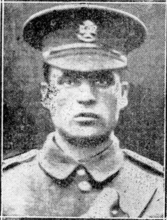 This photo of Richard Francis Gray was first published in the Retford Times newspaper following his death.