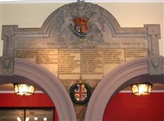 Memorial to Nottinghamshire County Council Employees