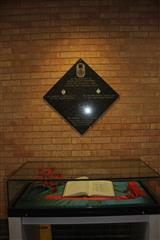 Memorial Book and VC panel