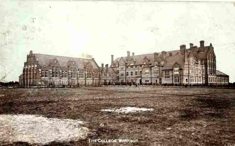 At the time this photo was taken C1905  , the college was known as St Cuthbert's College 