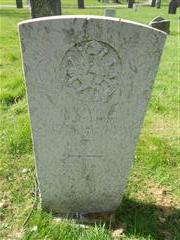 Commonwealth wargrave headstone marking the grave of Walter Cotton situated at the General Cemetery, Nottingham Courtesy of Peter Gillings