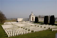 Tyne Cot Cemetery , where Francis Geoffrey Danby is buried. 