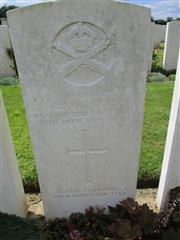 Buried in Aubigny Communal Cemetery Extension