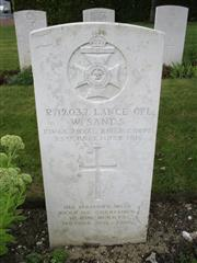 Buried in Avesnes-le-Comte Communal Cemetery Extension