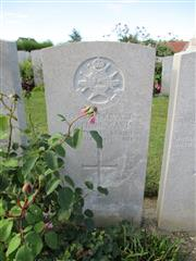 Buried in Bray Military Cemetery