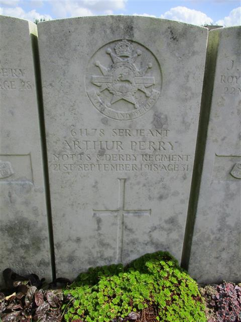 Buried in Thilloy Road Cemetery.