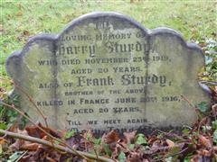 Family gravestone, Nottingham General Cemetery. Photograph Rachel Farrand (December 2017).