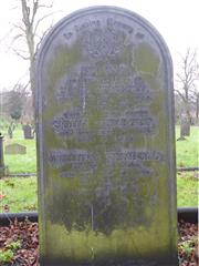 Meakin family headstone in Nottingham General Cemetery