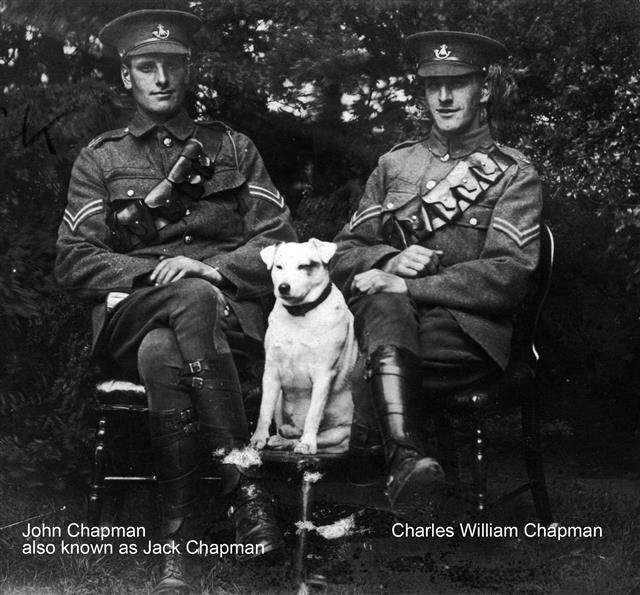 Brothers John and Charles Chapman.  John Chapman was also known as Jack.