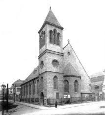 'The foundation stone for St Luke's  was laid on 2 July 1861. By 1923, the population of the  parish had dwindled and the church was united with St. Philips. The decision was made to close St. Luke's and sell the site. It was demolished shortly afterwards. The church was demolished in October 1925. The site is now occupied by The Congregation of Yahweh' (Wikipedia). No Great War memorial was created at St Luke's Church.