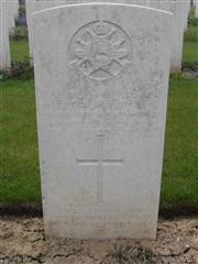Buried in Gommecourt Wood Cemetery