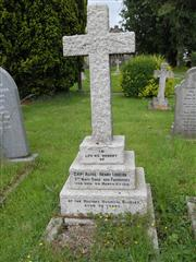 The grave of Captain Alfred Henry Longden.