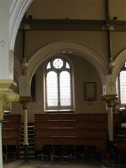 Interior of church, ROH to right (as viewed) of window. Photograph Rachel Farrand (2011)