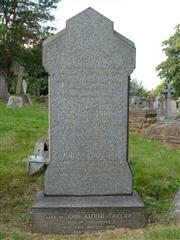 Family headstone, Nottingham Church (Rock) Cemetery