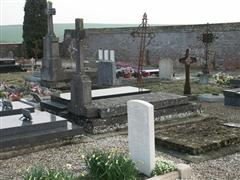 Photo shows Beaurevoir Communal Cemetery, France where Ralph Cooper is buried.