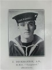 Photo originally published in the Worksop Guardian and now in the Borough of Worksop Roll of Honour of the Great War 1914 - 1918 in Worksop Library