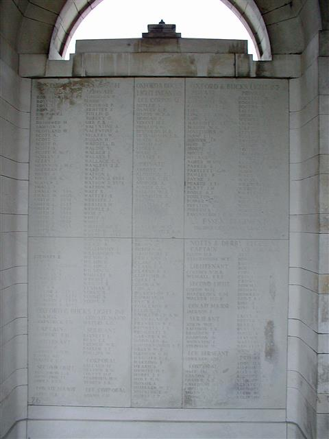 9920 Sergeant William Edgar Adkin was a regular soldier and was killed on 12 March 1915. He has no known grave and is commemorated on the Le Touret Memorial France. Visited, cross laid and photo taken by John Morse