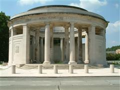 Ploegsteert Memorial Belgium on which Bernard's name is inscribed.