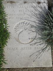 Buried in Wimereux Communal Cemetery Extension. Photo Murray Biddle
