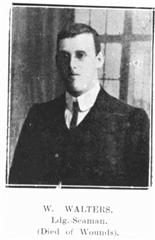 Able Seaman William Walters , Royal Naval Division. 