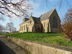 photos shows the exterior of St Peters Church, Radford, Courtesy of Peter Gillings