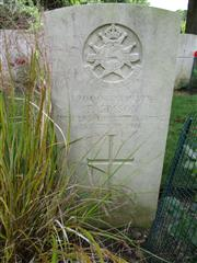 Buried in Blighty Valley Cemetery
